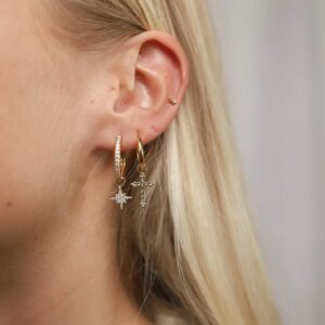 Earring Charm Basic Hoops Fafe Collection