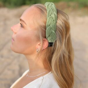 Pastell Headband Green Fafe Collection
