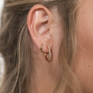 Shiny Hoops Classic Gold Fafe Collection