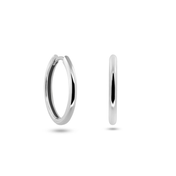 Basic Hoops Classic Silber Fafe Collection