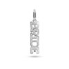 Bride Necklace Charm Silber Fafe Collection