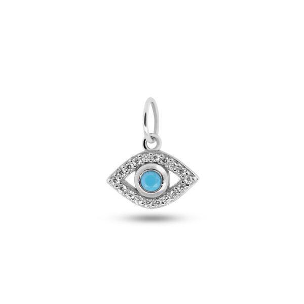 Eye Charm Silber Fafe Collection Online Shop Schmuck
