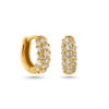 Glitter Hoops Mini Gold Fafe Collection