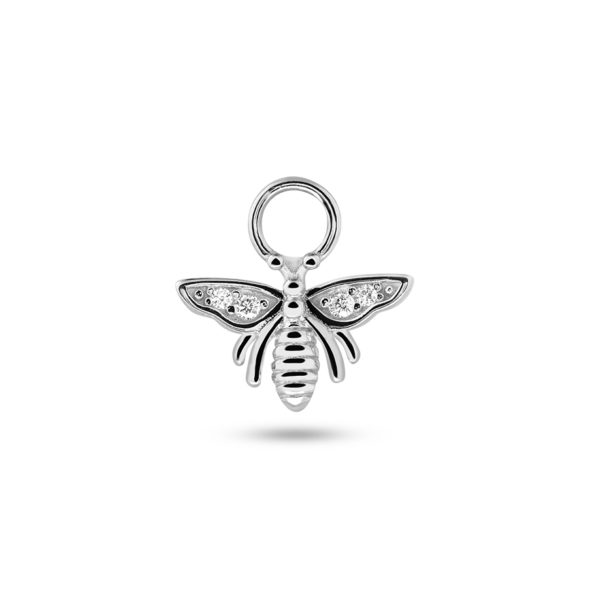 Honey Bee Earring Charm Silber Fafe Collection Online Shop