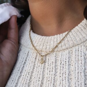 Honey Bee Necklace Charm Fafe Collection Online Shop