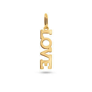 Love Necklace Charm Gold Fafe Collection