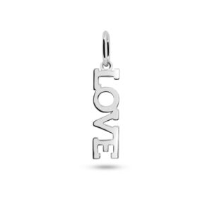 Love Necklace Charm Silber Fafe Collection
