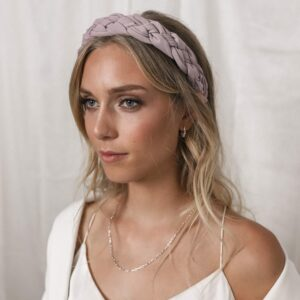 Medi Headband Purple Fafe Collection