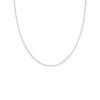 Open Chain Basic Necklace Silber 1