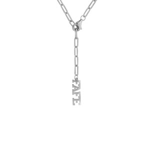 Open Chain Basic Necklace Silber 2