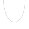 Open Chain Necklace Silber 1