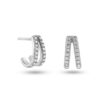 Shiny Valentine Earring Silber Fafe Collection Schmuck