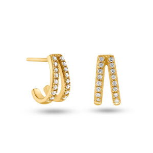 Shiny Valentine Earrings Gold Fafe Collection Schmuck