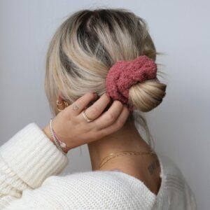 Teddy Scrunchie Berry Fafe Collection