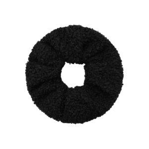 Teddy Scrunchie Black Fafe Collection Onlineshop