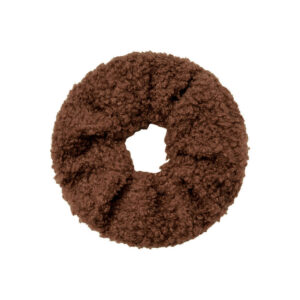 Teddy Scrunchie Brown Fafe Collection Onlineshop