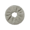 Teddy Scrunchie Grey Fafe Collection Online Shop