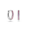 Tiny Hoops Rose Silber Fafe Collection Online Shop