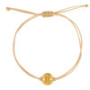 Wedding Bracelet Bridesmaid Beige Gold Fafe Collection