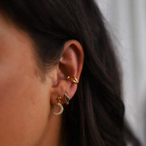 SHINY LUNA EARRINGS