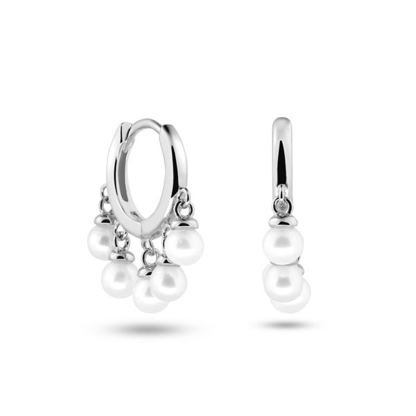 Lizzy Hoops Silber Fafe Collection Onlineshop