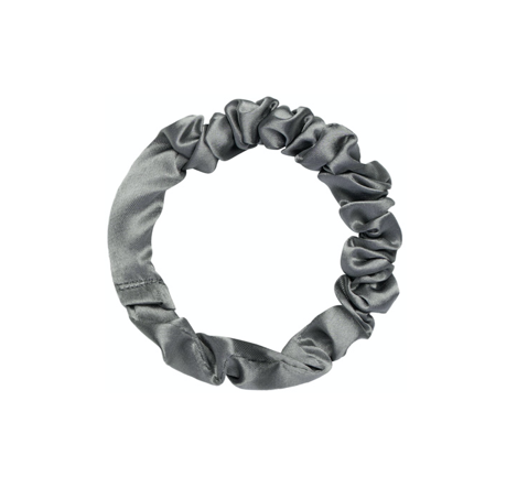 Mini Scrunchie Silver Grey Fafe Collection Onlineshop