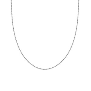 TWISTED CHAIN SILBER